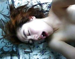 geile Koreanerin, die Aufnahme von Sex mit ihrem Freund