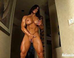 Brooke Eisen Angela Salvagno Bodybuilderin nackt erhalten