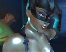 sexy Catwoman-animation