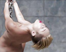 miley Cyrus - Abrissbirne (Porno bearbeiten)