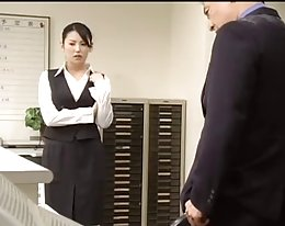 japanische Sekretärin... f70