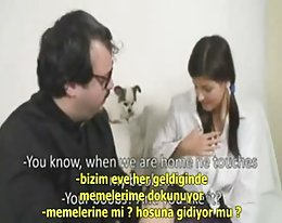Pfarrer türkische Sub Porn-Turkce Altyazili Peder pornosu