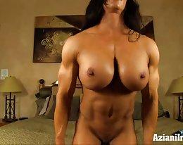 Brooke Eisen Angela Salvagno Bodybuilderin mit großer Klitoris